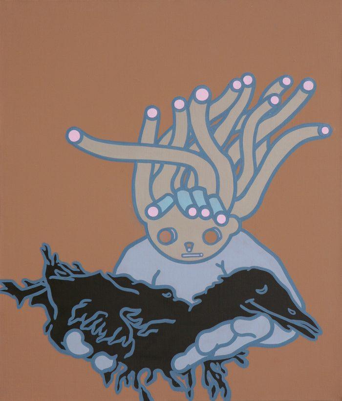 black-disaster-acrylic-oil-on-canvas-53-x-45-5cm-2008