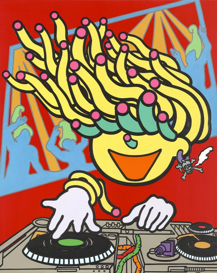 dj-mato-acrylic-oil-on-canvas-100-x-80-3cm-2012