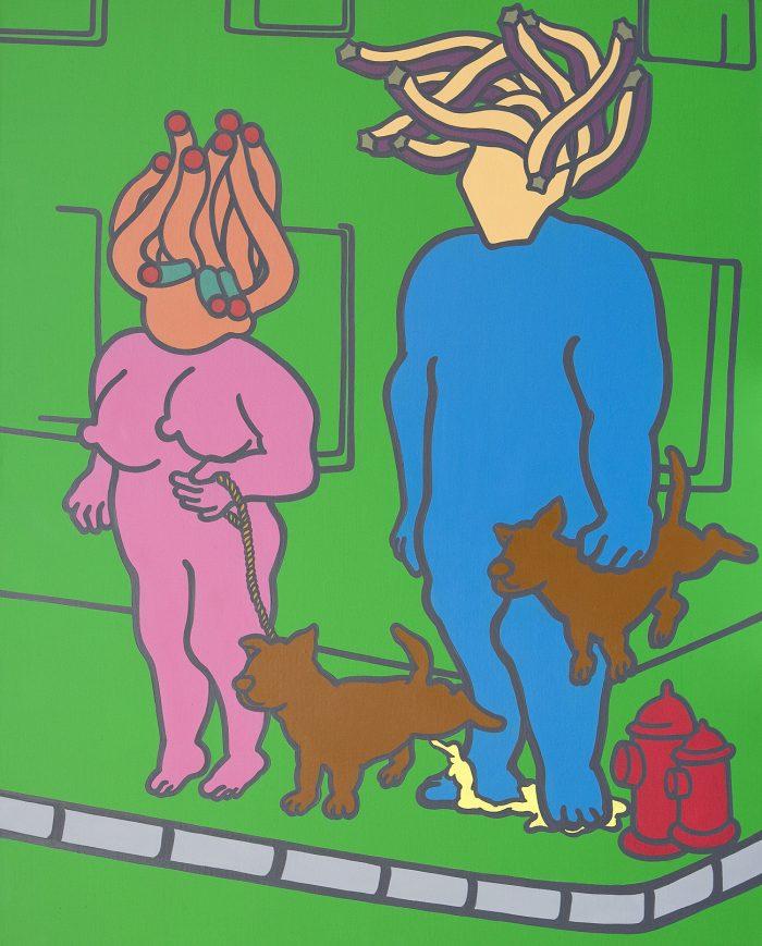 communication-gap-acrylic-oil-on-canvas-91x72-7cm-2009